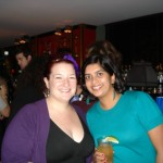 My editor, Devi Pillai. Short and evil, the both of us. I like.