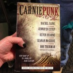 Zombie Joe brought his ARC copy of Carniepunk. I hadn't even seen one yet!
